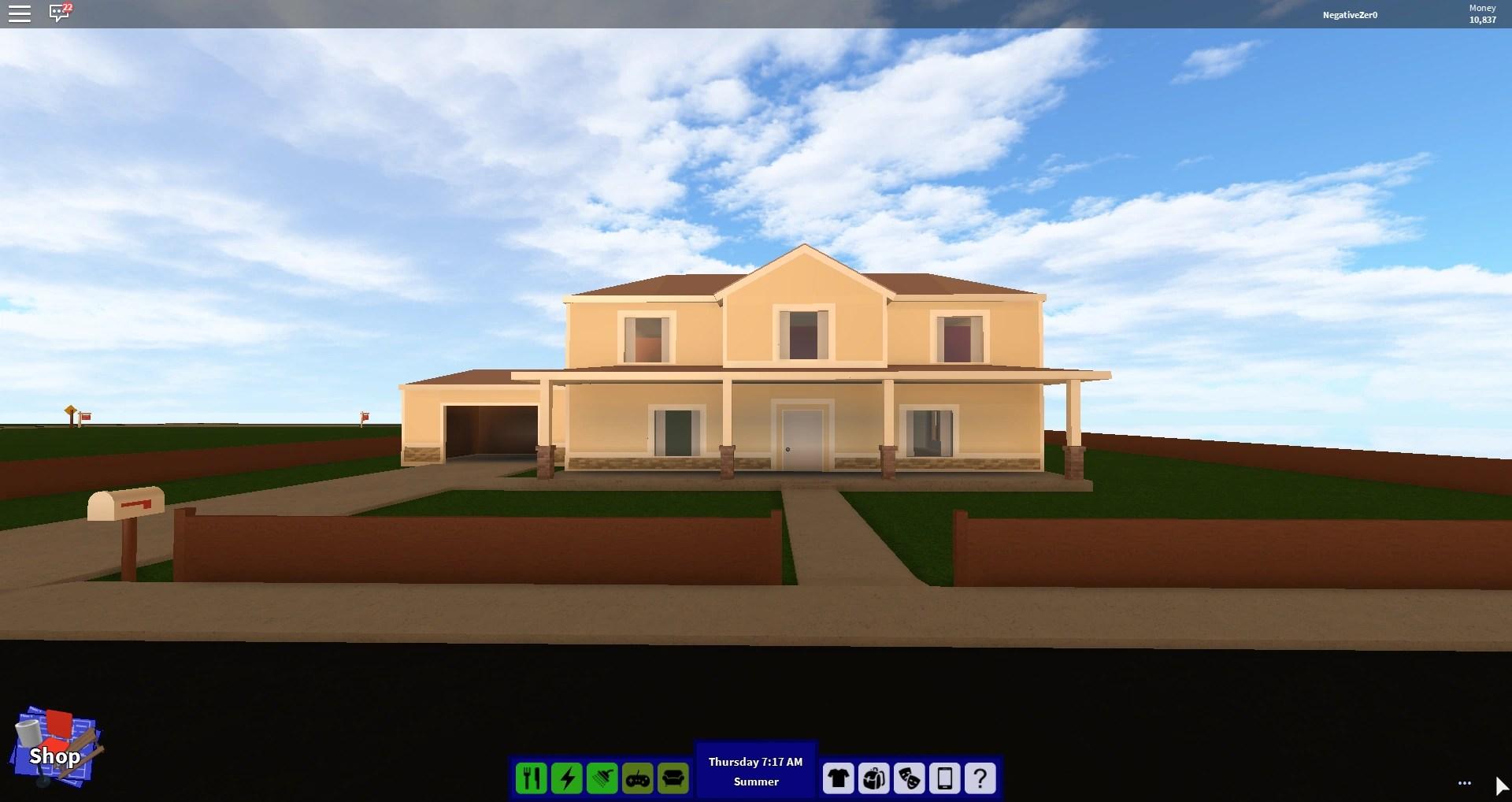 Mansion Blueprints House Rocitizens