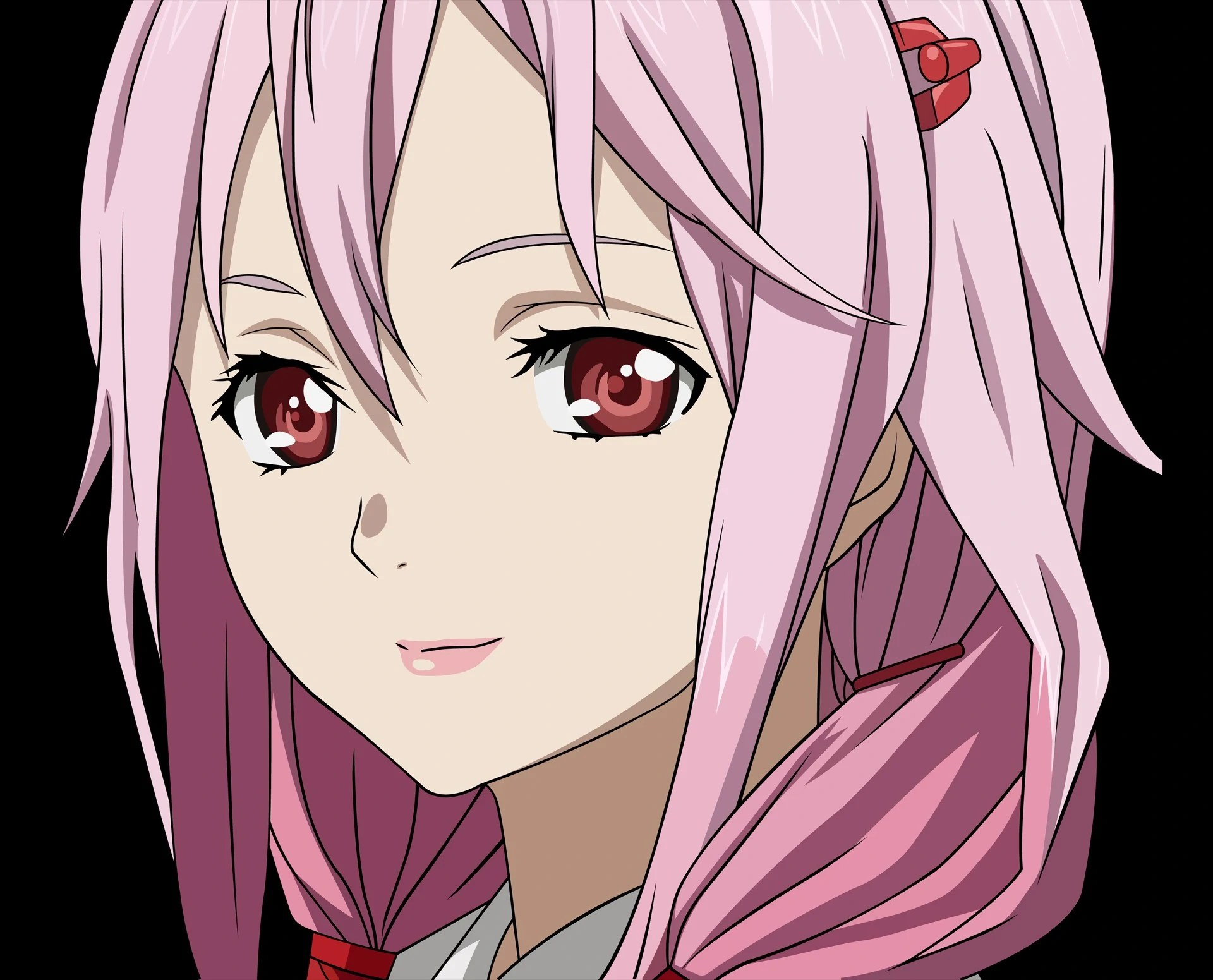vector-pink-hair-red-eyes-anime-girls-guilty-crown