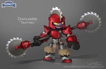 Sentinel Doomlander Skylanders Wiki FANDOM Powered By