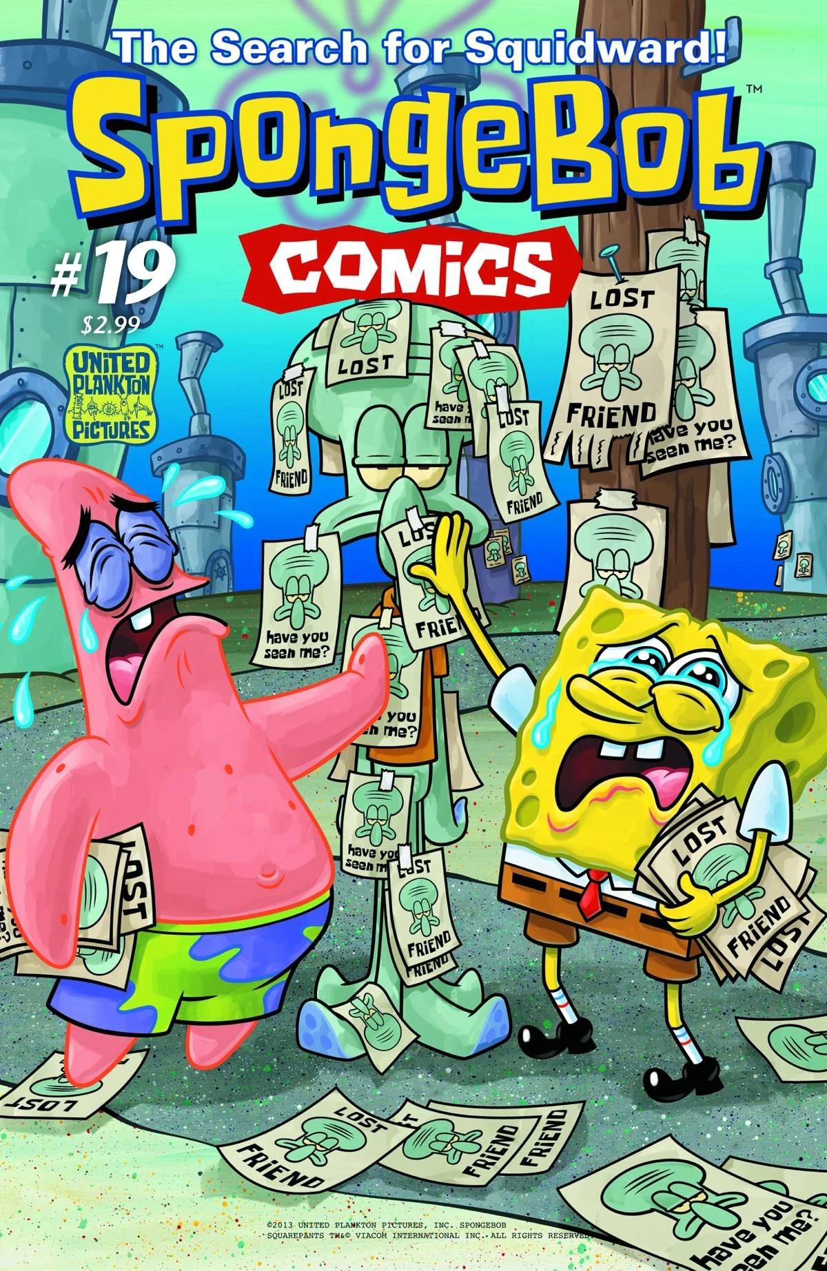 SpongeBob Comics No 19  Encyclopedia SpongeBobia