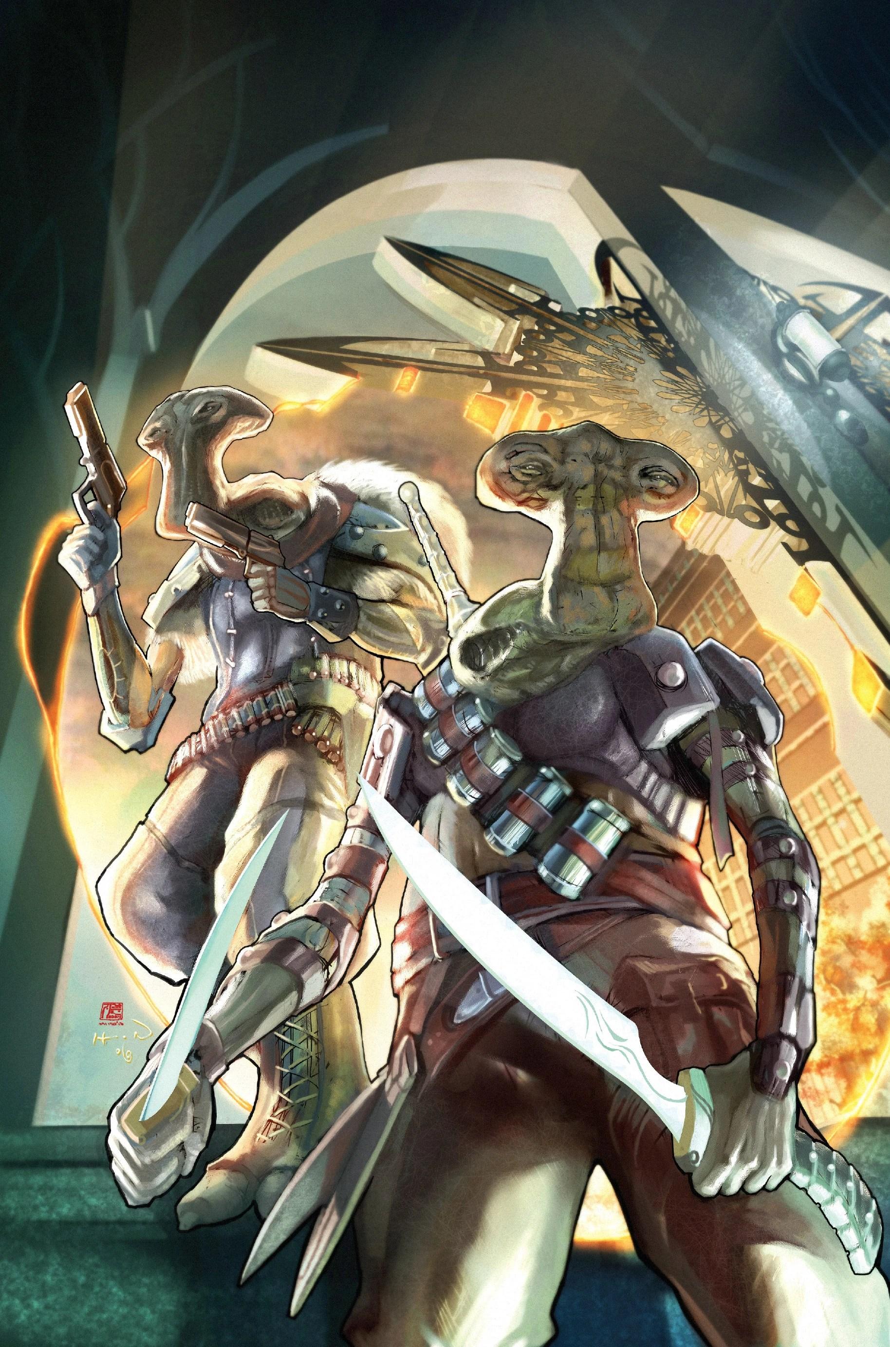 Star Wars Knights of the Old Republic Comic Art