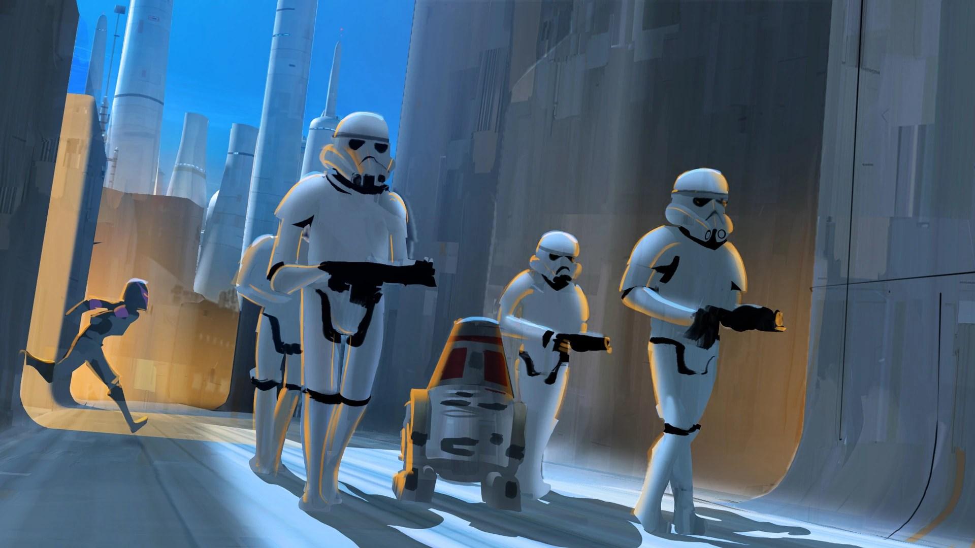 Rebel Resolve Concept Art Star Wars