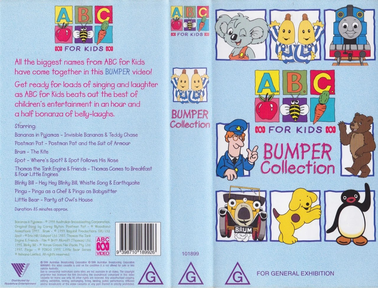 Image Abcforkidsbumpercollectionvhs Jpg Thomas The