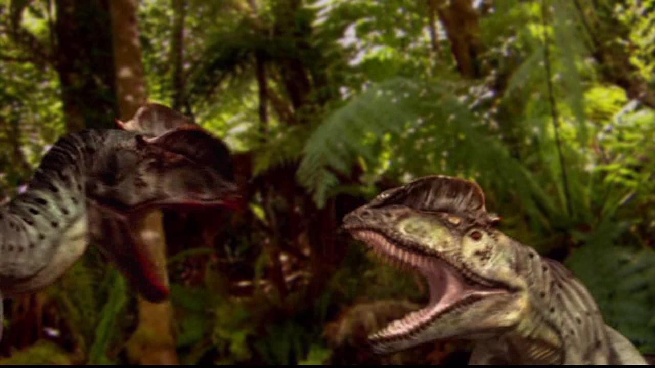 Dilophosaurus When Dinosaur Roamed America Wiki Fandom