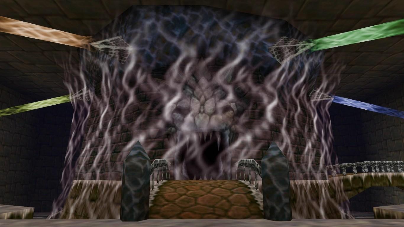Zelda Ocarina Of Time 3d Wallpaper Inside Ganon S Castle Zeldapedia Fandom Powered By Wikia