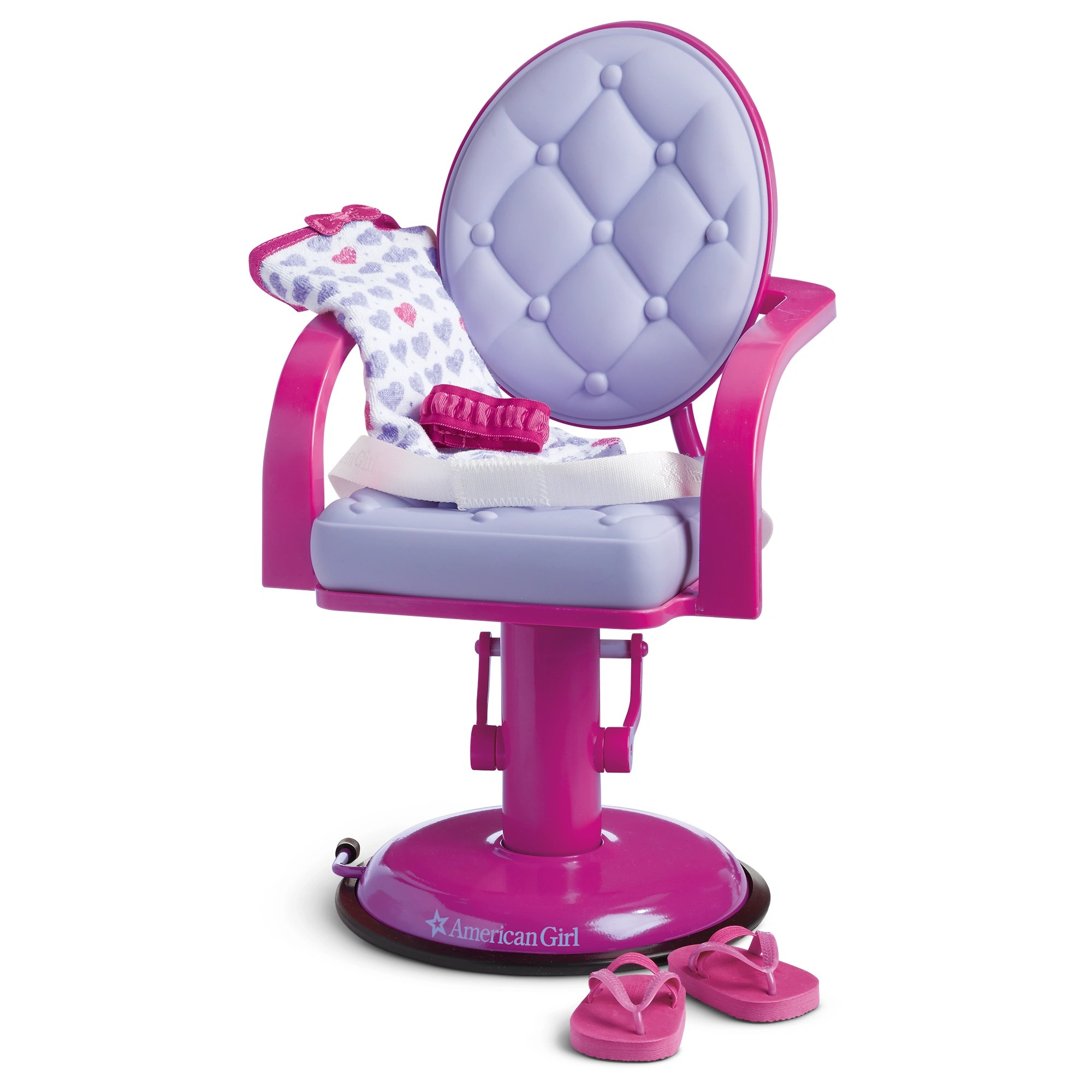 doll salon chair steel of hs code and wrap set american girl wiki fandom