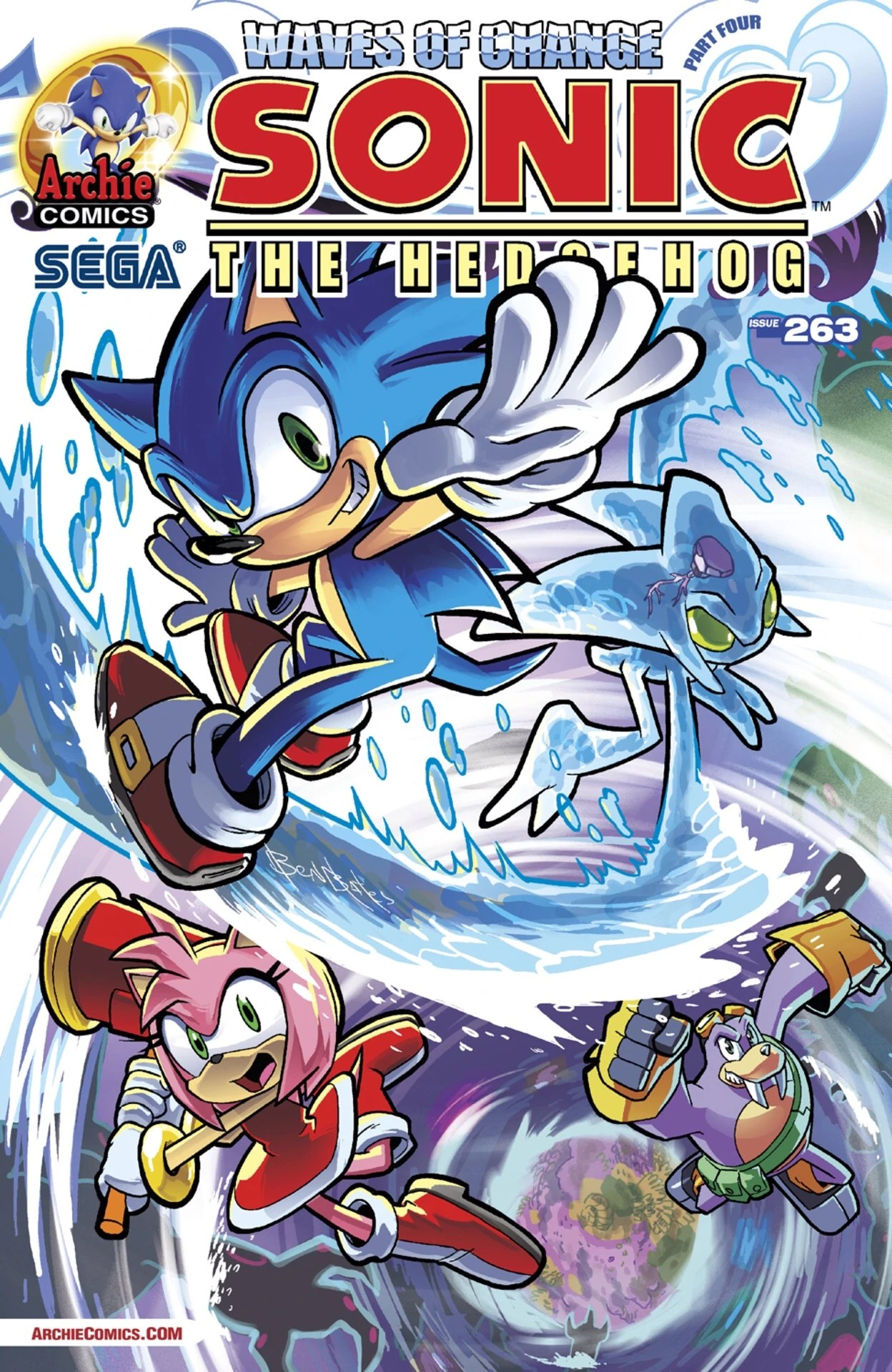 Archie Sonic the Hedgehog Issue 263  Mobius Encyclopaedia  Fandom powered by Wikia