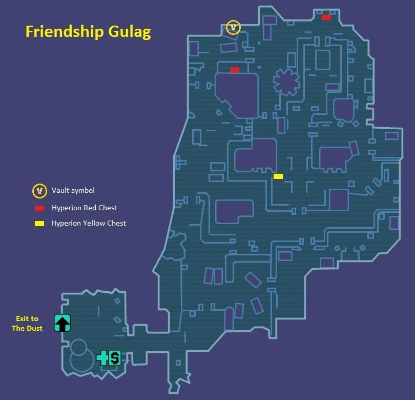 Friendship Gulag  Borderlands Wiki  FANDOM powered by Wikia