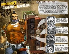 Monk Quotes Wallpaper Salvador Borderlands Wiki Fandom Powered By Wikia