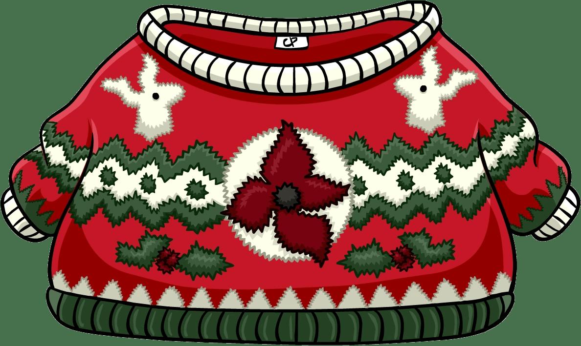 Festive Sweater  Club Penguin Wiki  FANDOM powered by Wikia