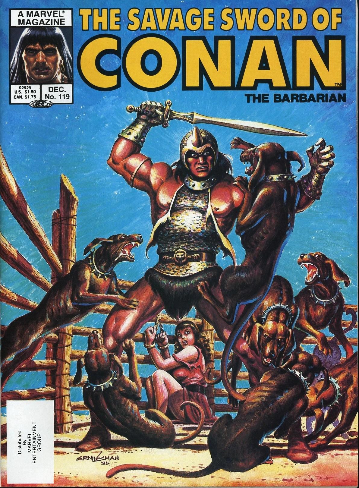 Savage Sword of Conan 119  Conan Wiki  FANDOM powered by Wikia