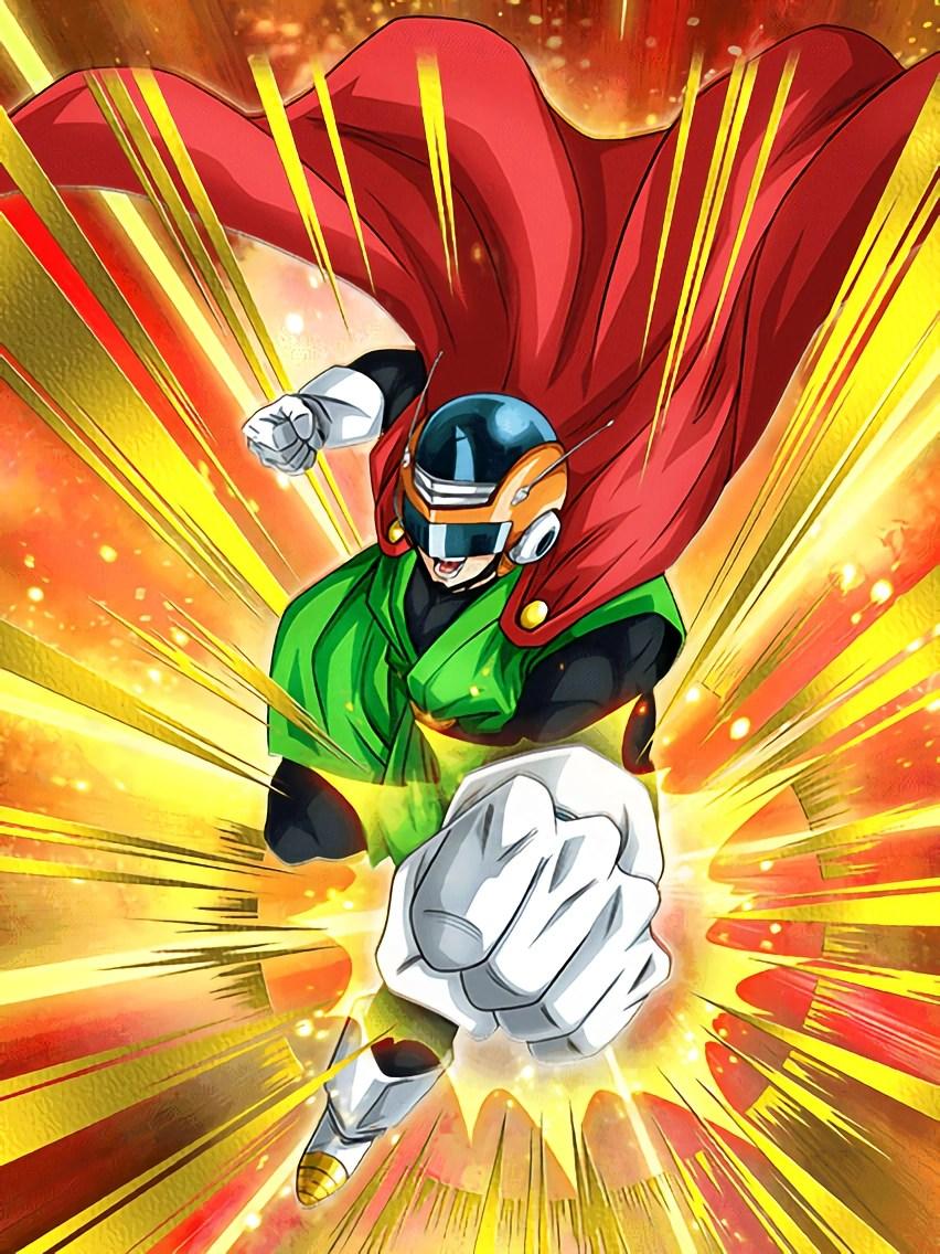 Goku Ssj Wallpaper Hd Iron Fist Of Justice Great Saiyaman Dragon Ball Z Dokkan