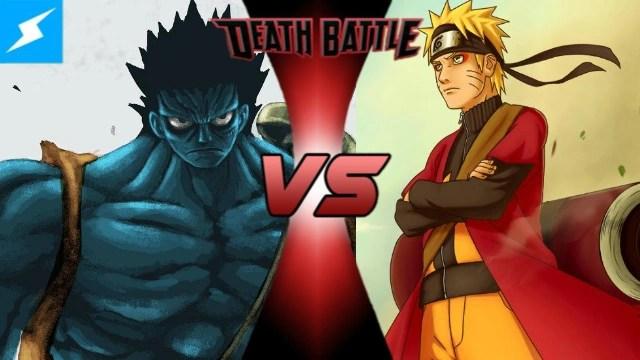 Monkey D Luffy Vs Naruto Uzumaki