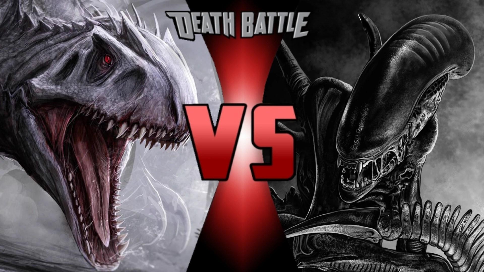 Monster University Wallpaper Hd Indominus Rex Vs Xenomorph Death Battle Fanon Wiki