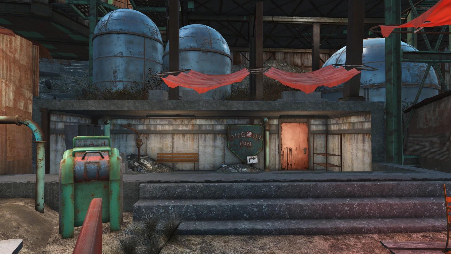Dugout Inn Fallout Wiki Fandom Powered Wikia
