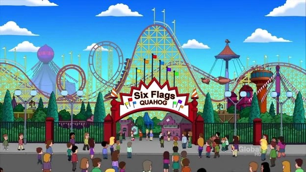 Six Flags Quahog Family Guy Wiki Fandom Powered By Wikia