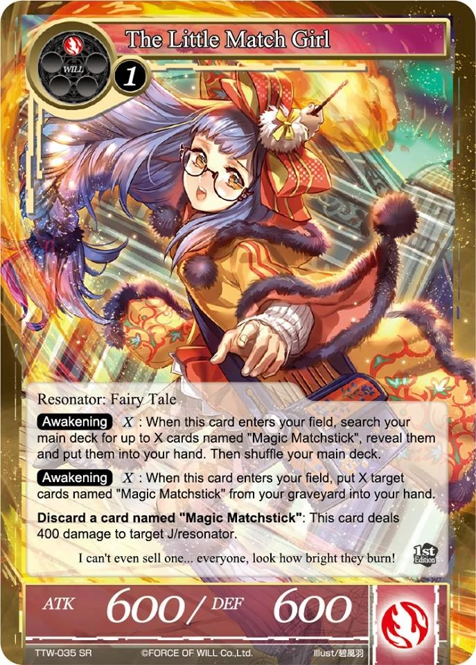 The Little Match Girl Force Of Will TCG Wiki FANDOM
