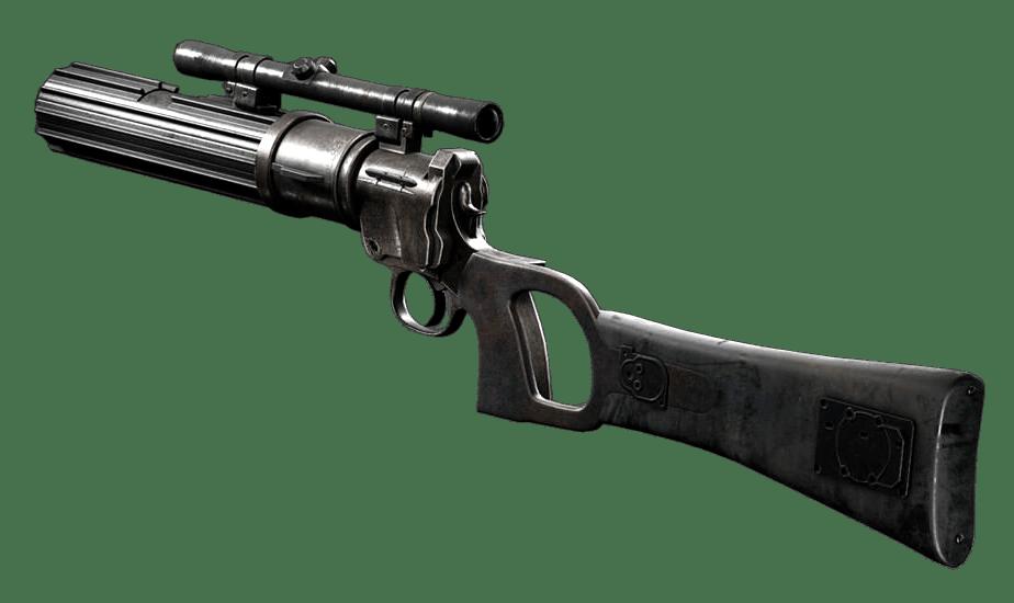 Bossk Blaster Wars Hologram Power Star Rifle Force And W Potf2 Pistol Card