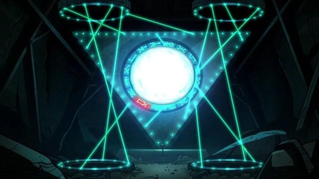 Gravity Falls Jounal Wallpaper Gravity Falls Diarios Super Arma Futurista O Portal A