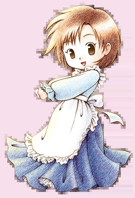 Cartoon Cute Little Girl Wallpaper Elli Btn The Harvest Moon Wiki Fandom Powered By Wikia