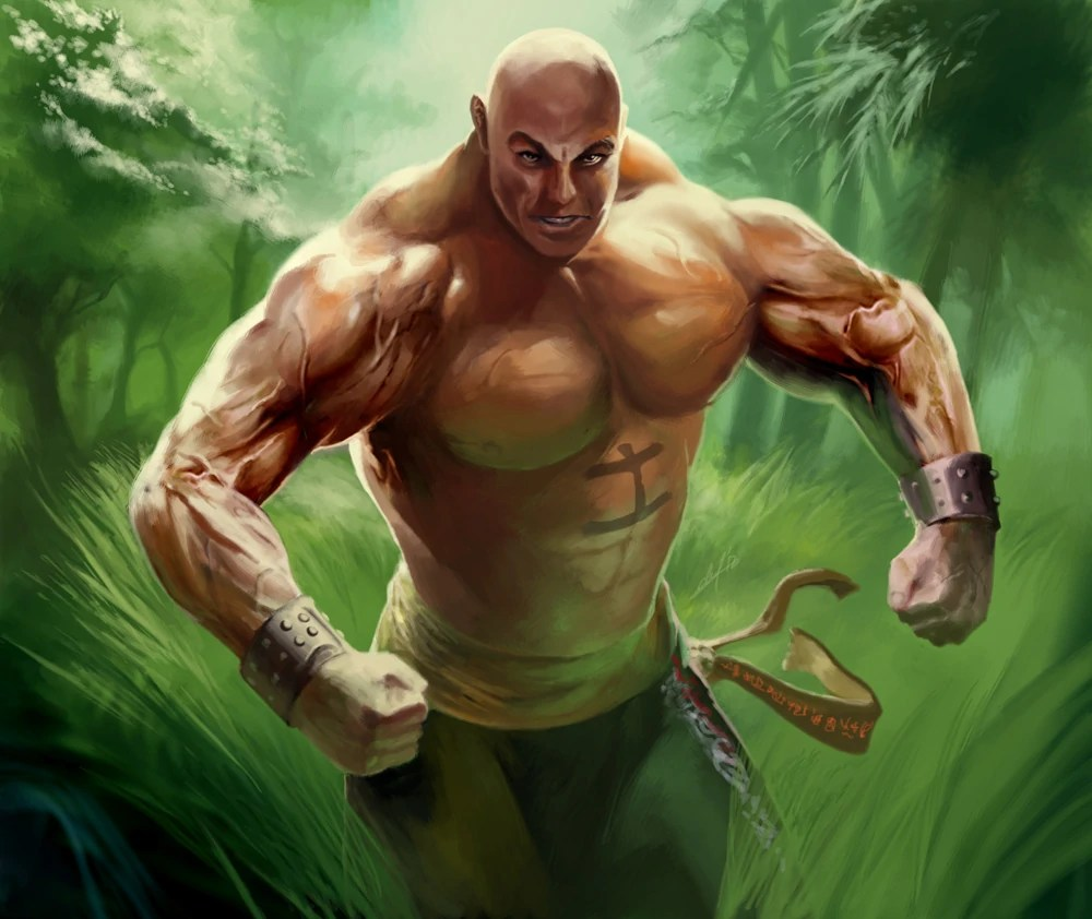 20+ L5r Shadowlands Tattooed Monks Pictures and Ideas on Meta Networks