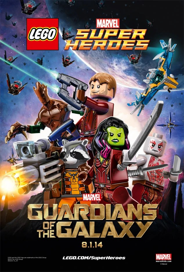 Custom Lego Guardians Of The Galaxy The Video Game