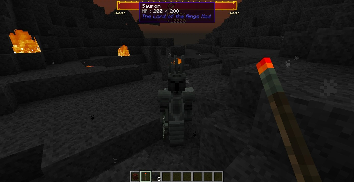 Sauron The Lord of the Rings Minecraft Mod Wiki Wikia