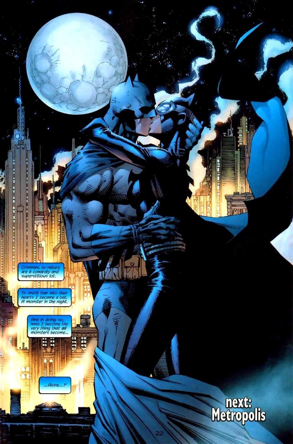 Batman Hush Catwoman