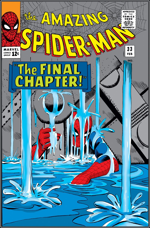 Amazing Spider Man Vol 1 33 Marvel Database FANDOM