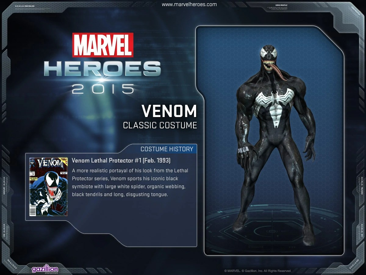 Venom Costumes Marvel Heroes Wiki Fandom Powered Wikia