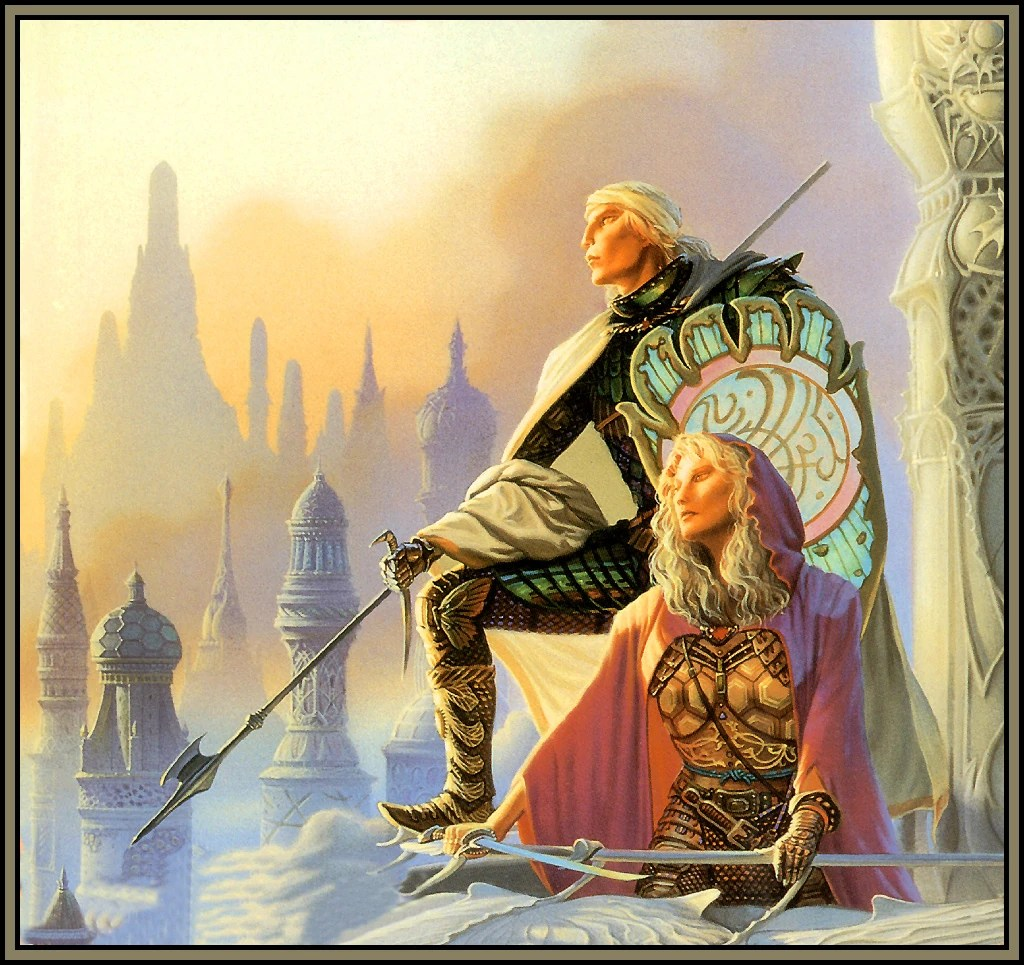 angel chair covers rocking for twins image michael whelan to green tower back jpg