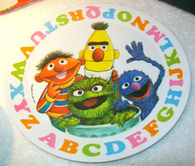 Sesame Street dinnerware (Demand Marketing)