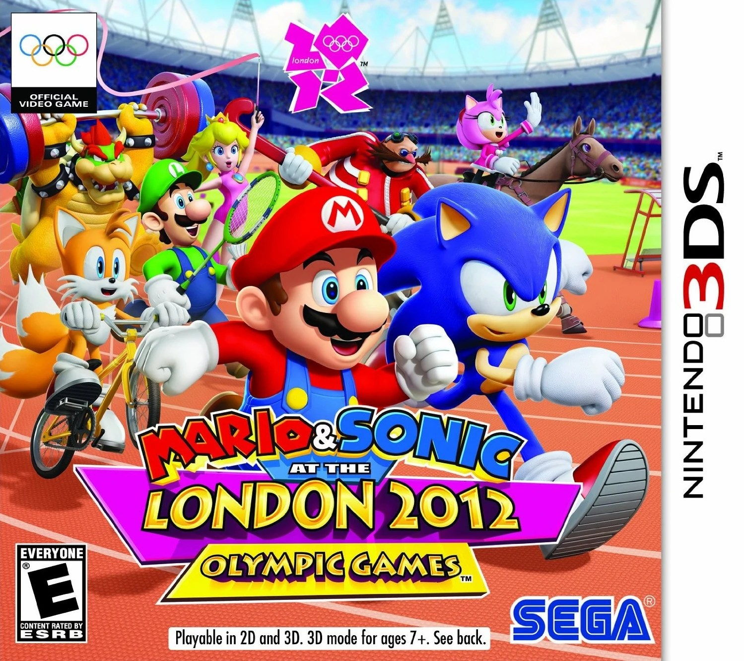Mario And Sonic At The London 2012 Olympic Games Nintendo 3DS Wiki Fandom Powered By Wikia
