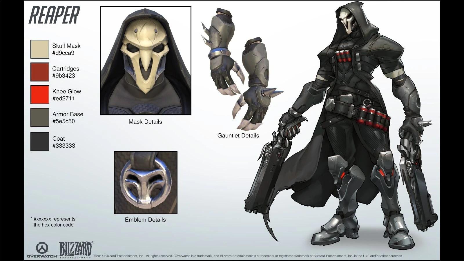 Reaper Referencejpg Overwatch Fandom