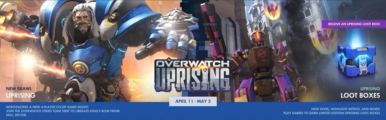 Uprising Overwatch Wiki FANDOM Powered By Wikia