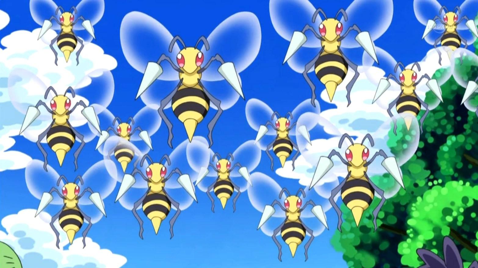 Beedrill (BW126)   Pokémon Wiki   FANDOM powered by Wikia