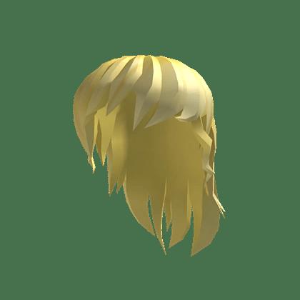 catalog golden anime girl hair