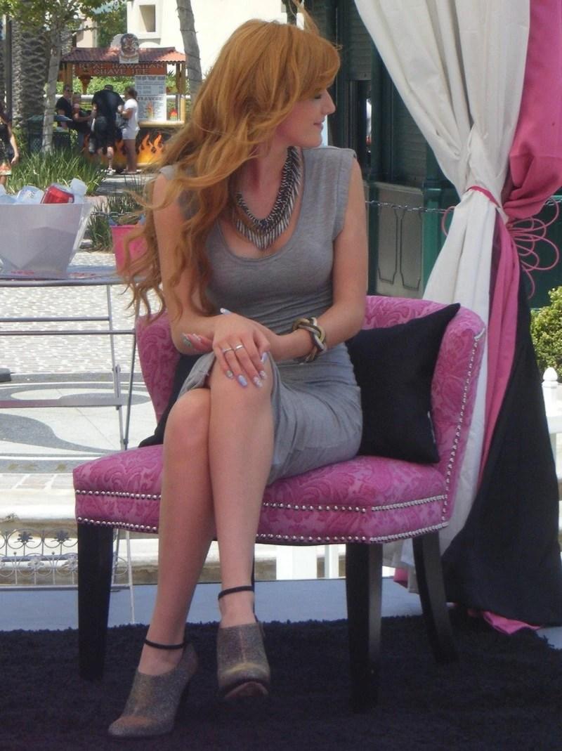 Bella Thorne Sitting Down