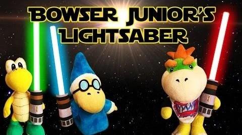 Bowser Junior's Lightsaber! SuperMarioLogan Wiki