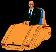Professor Xavier's hover chair   Spiderman animated Wikia ...