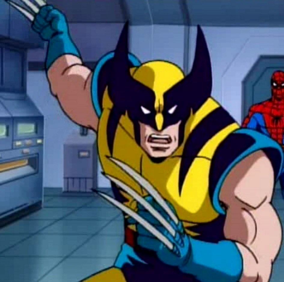 Wolverine Spiderman Animated Wikia Fandom Powered