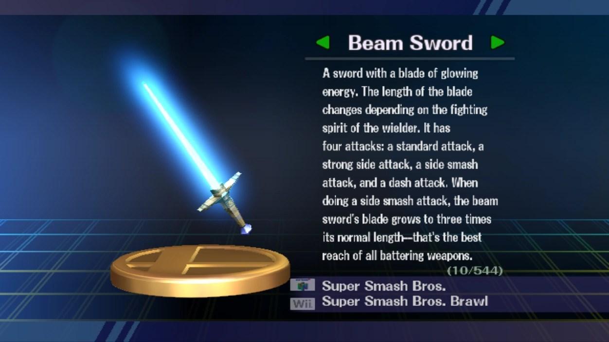 Beam Sword Smashpedia Fandom Powered By Wikia