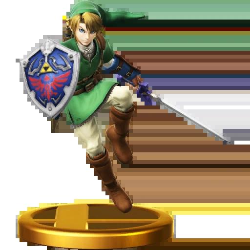 List Of SSBWU TrophiesThe Legend Of Zelda Series