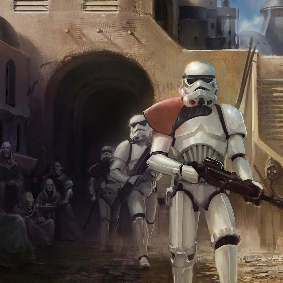 Star Wars Stormtrooper Concept Art