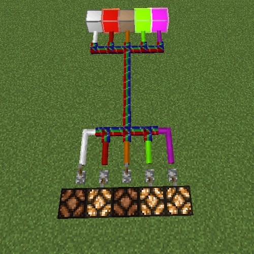How Can I Randomly Power One Of Several Wires In Minecraft