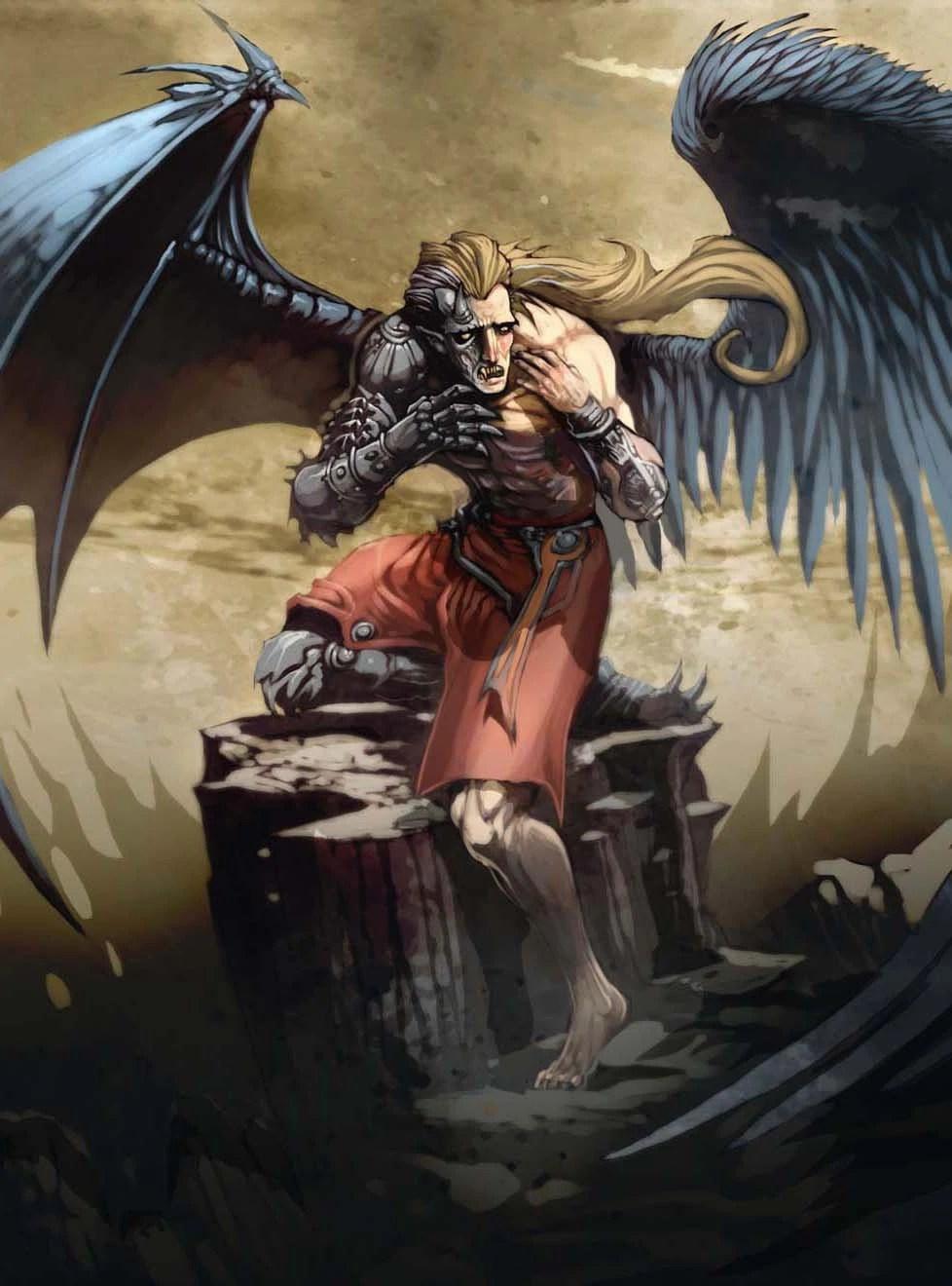 Angel Half Demon