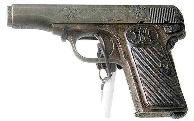 Gavrilo Princips FNModel 1910 Pistol  Warehouse 13