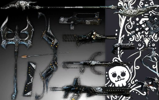 Image Day Of The Dead Weapon Skins Packpng WARFRAME