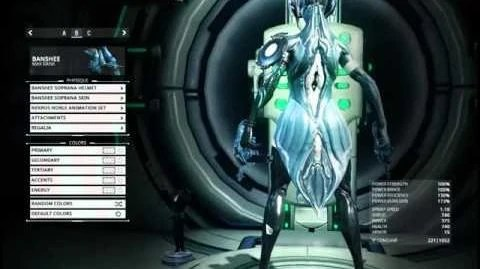 Video Banshee Soprana Skin Before And After Only WARFRAME Wiki FANDOM Powered By Wikia