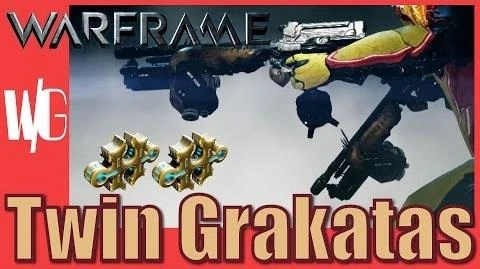 Video TWIN GRAKATAS BUILD Rata Tat Tat Warframe 2